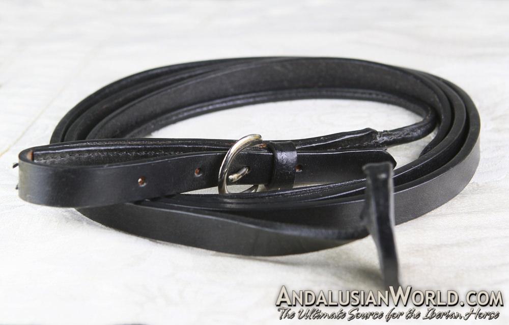 Leather Leadline - Black