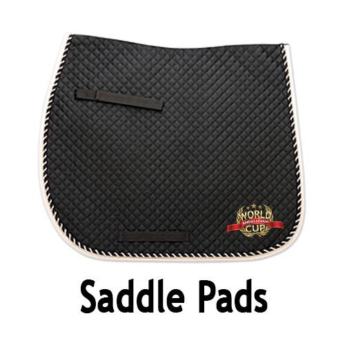 AWC Saddle Pad - Black