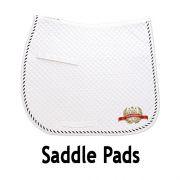 AWC Saddle Pad - White