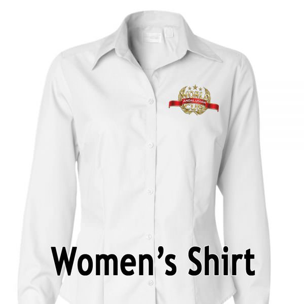 AWC Womens Fitted Shirt Black