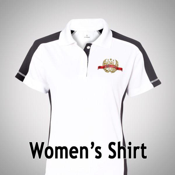 AWC Woman's Sport Shirt - White