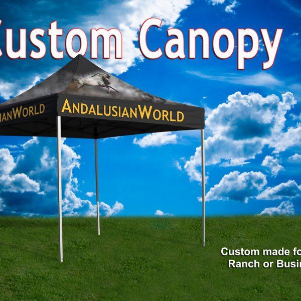 Custom Full Color Canopy