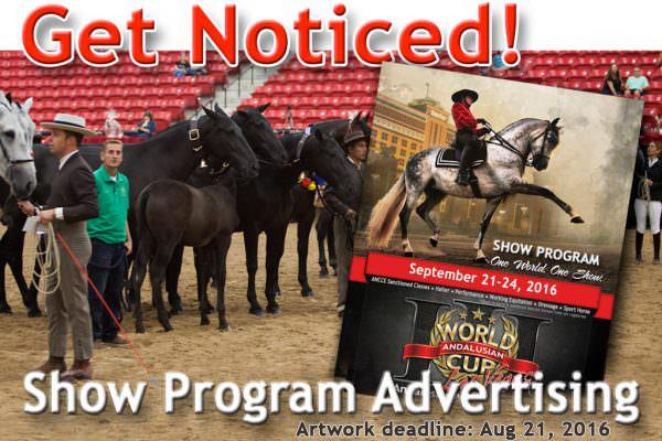 Show Program Advertising