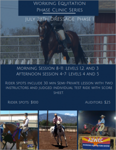 Working Equitation Clinic Series