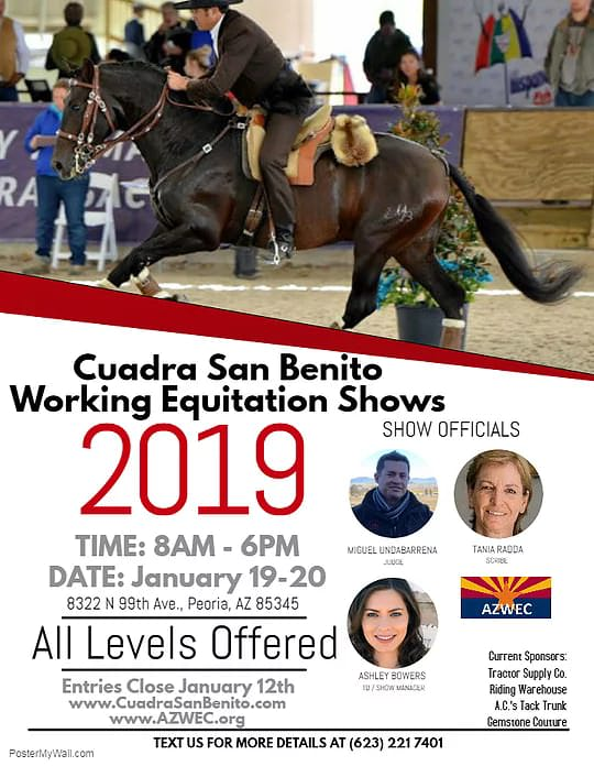 Cuadra San Benito Working Equitation Show